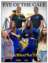 Eye of the Gale student newsletter - cover page