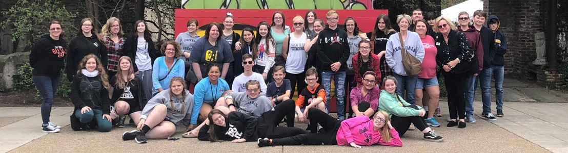 General Sherman JH - 8th Grade Art Trip (Pittsburgh)