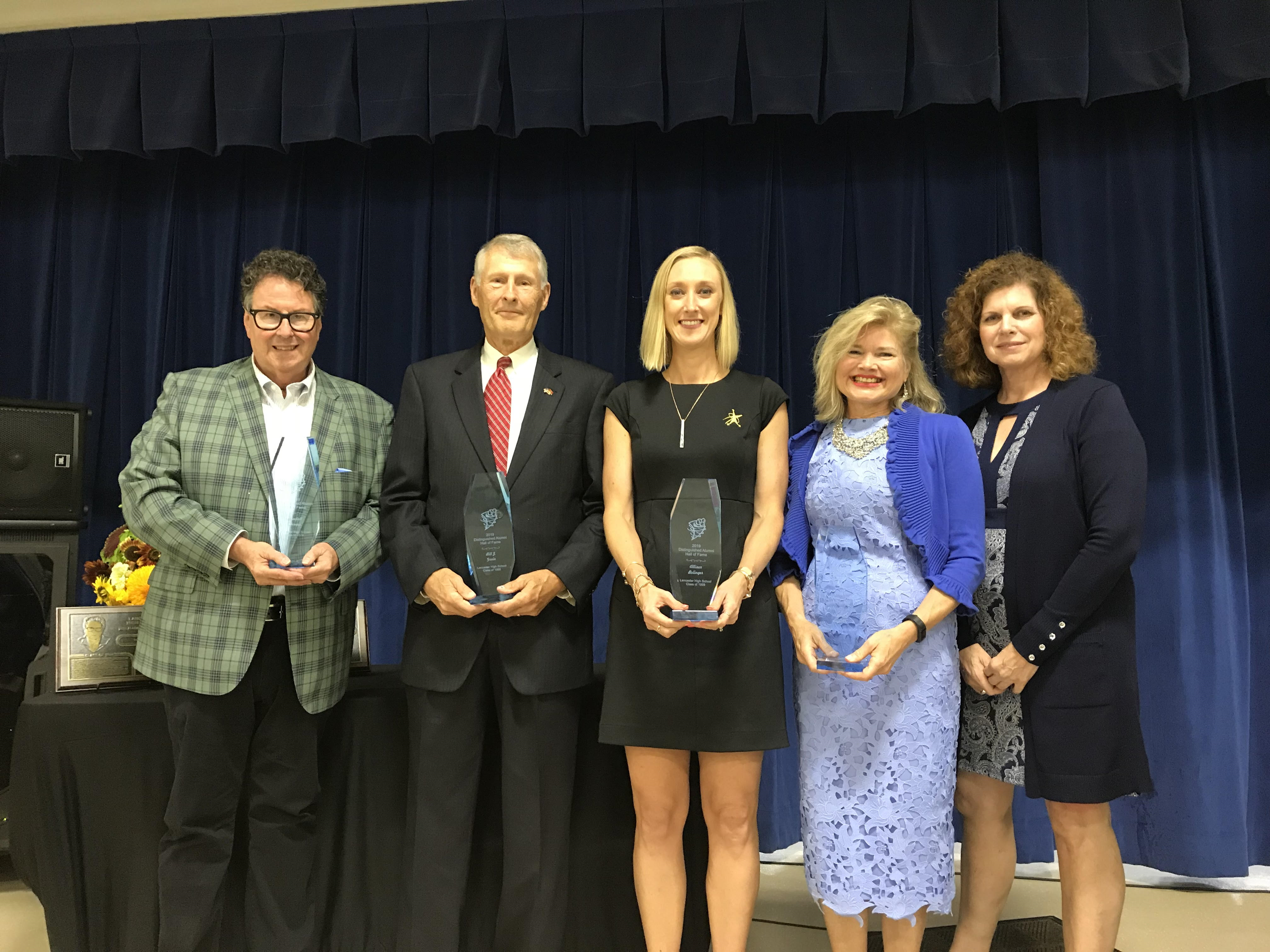 2019 LHS Distinguished Alumni Hall of Fame Inductees