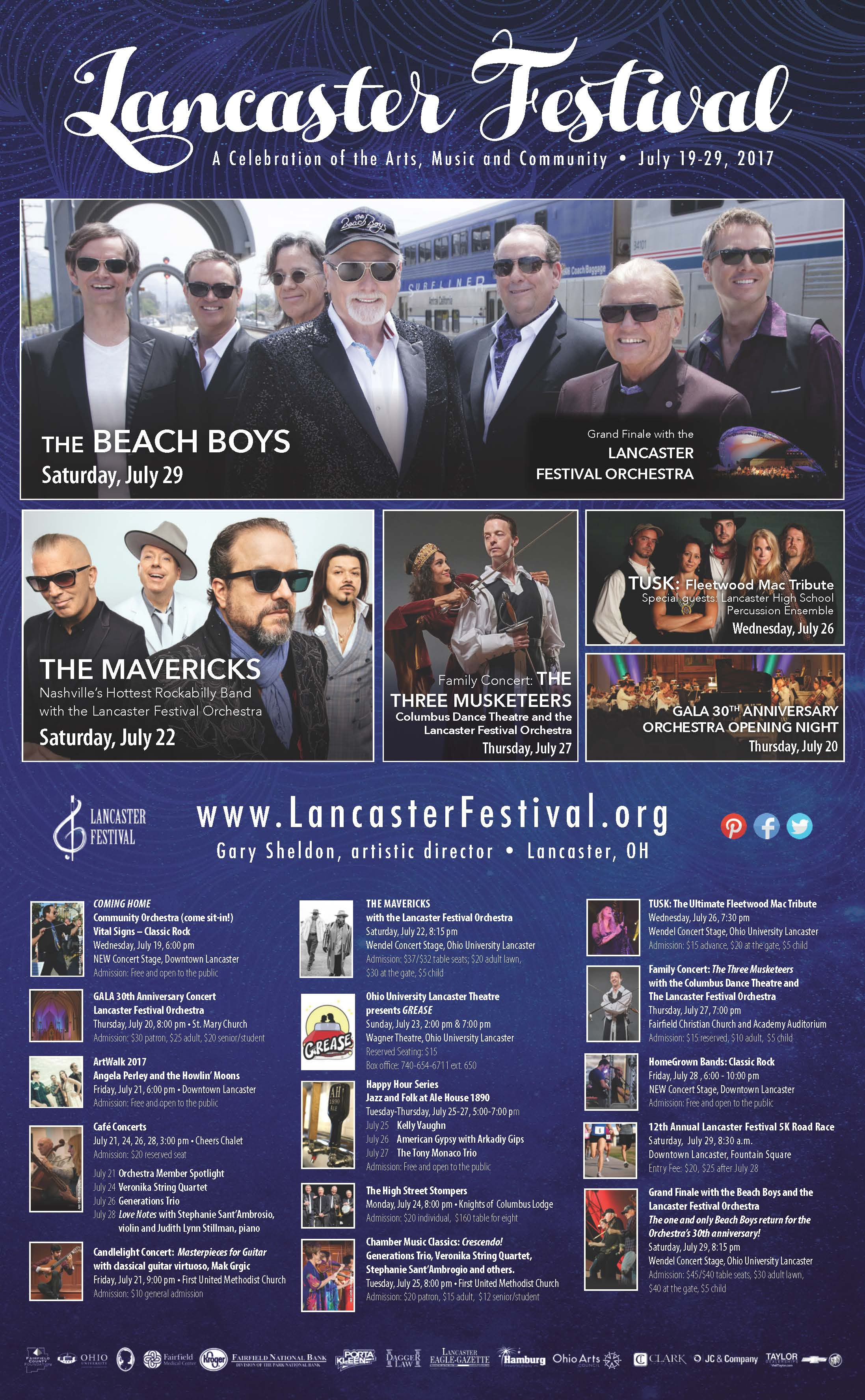 Lancaster Festival 2017 information page 1