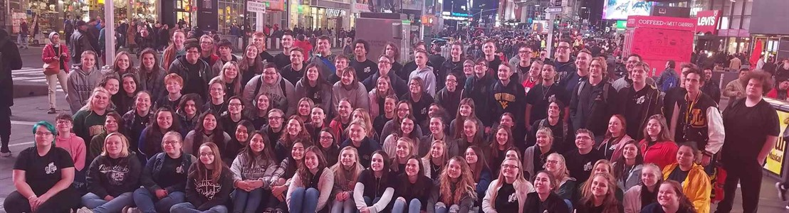 LHS Choirs at Times Square - April 2019