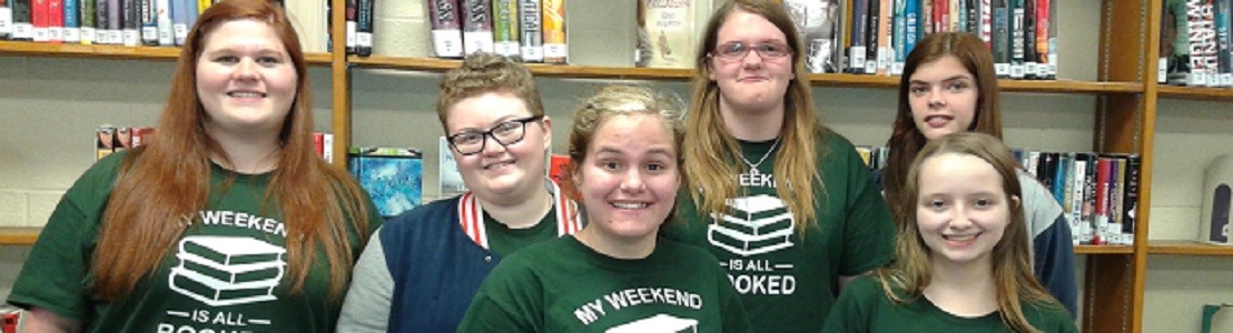 Battle of the Books competition team