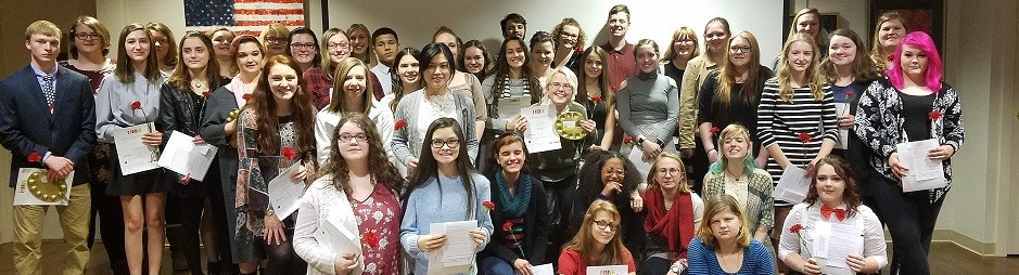 National Art Honor Society Induction