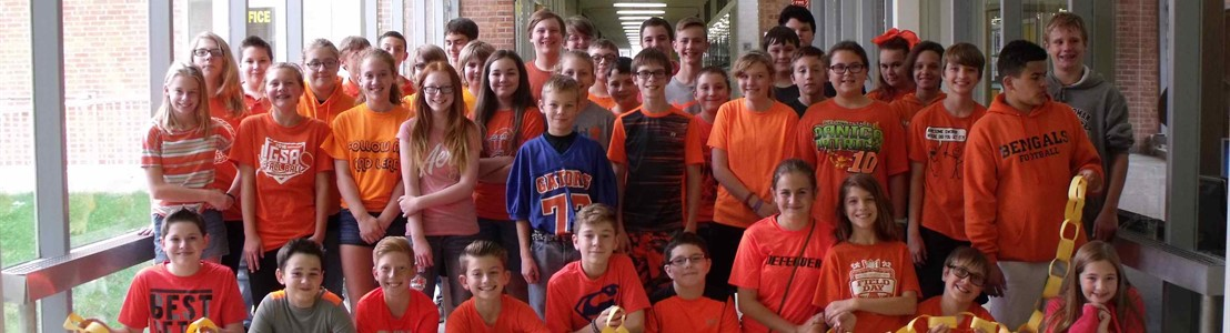 General Sherman students - Unity Day 2016
