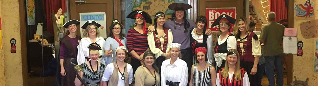Medill Bookfair - Pirate Theme