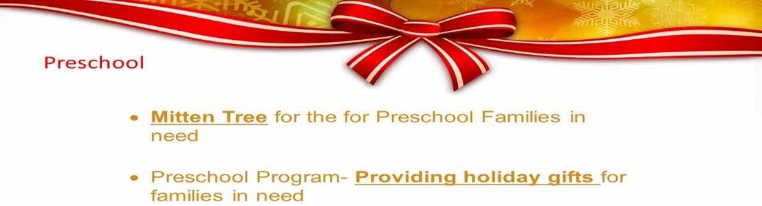 Lancaster Preschool - Season of Caring