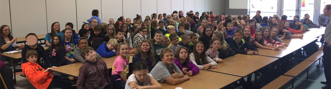 Tarhe Trails Elementary students - DARE Graduation Assembly 2016