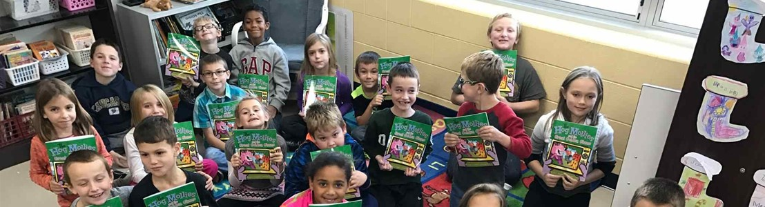 Second and Seven Reading Program - Mt. Pleasant Students