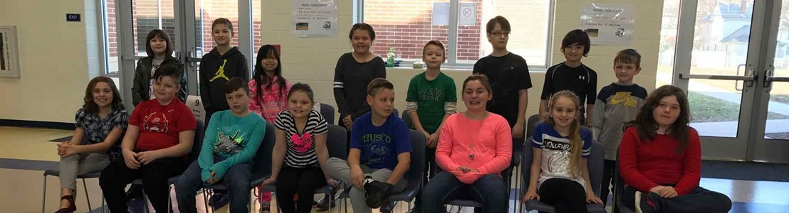Mt. Pleasant - Spelling Bee Participants