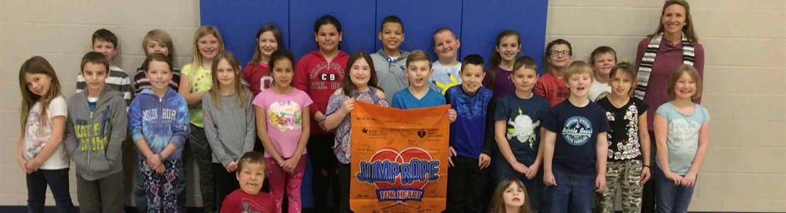 Gorsuch West - Jump Rope for Heart winners