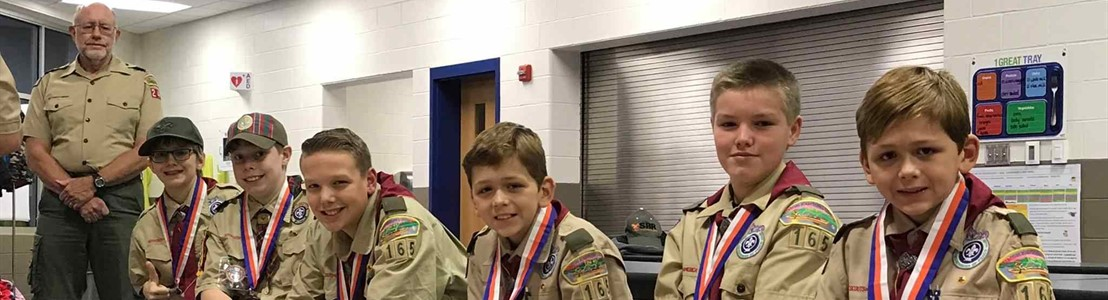 Tarhe's Cub Scout Pack 240 earned the Charles H. Townes Supernova Award