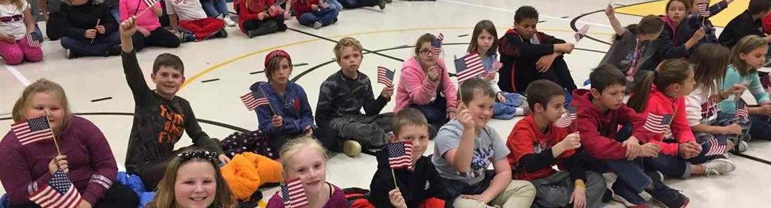 Veterans Day Assembly Gorsuch West ES 2017