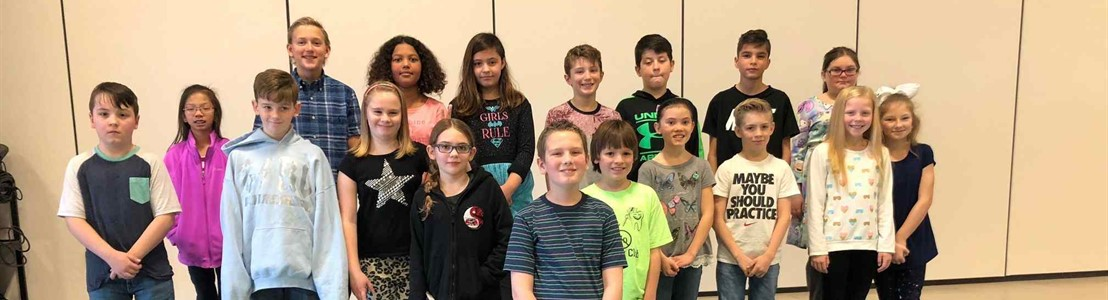 Tarhe Trails - Spelling Bee Participants 2018