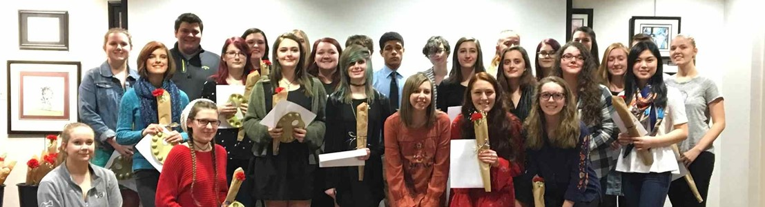 LHS National Art Honor Society Member Recognition & Induction Ceremony - January 2018