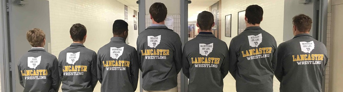 Seven LHS Wrestlers qualified for State Tournament (March 2018)