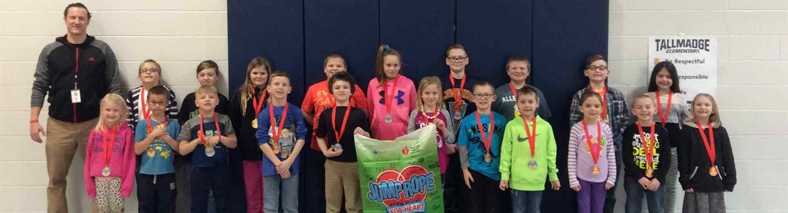 Tallmadge: Jump Rope for Heart Fundraiser 2018