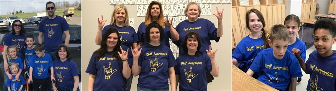 Deaf Awareness Day was April 15, 2018.  Due to it being on  a Sunday Medill Staff and Students celebrated on April 13, 2018.