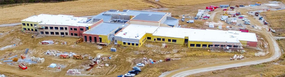 Thomas Ewing Construction Site - October 2018 (Photo Courtesy of TJ Flight-Aerial Photography)