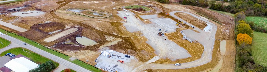General Sherman Construction Site - October 2018 (Photo Courtesy of TJ Flight-Aerial Photography)