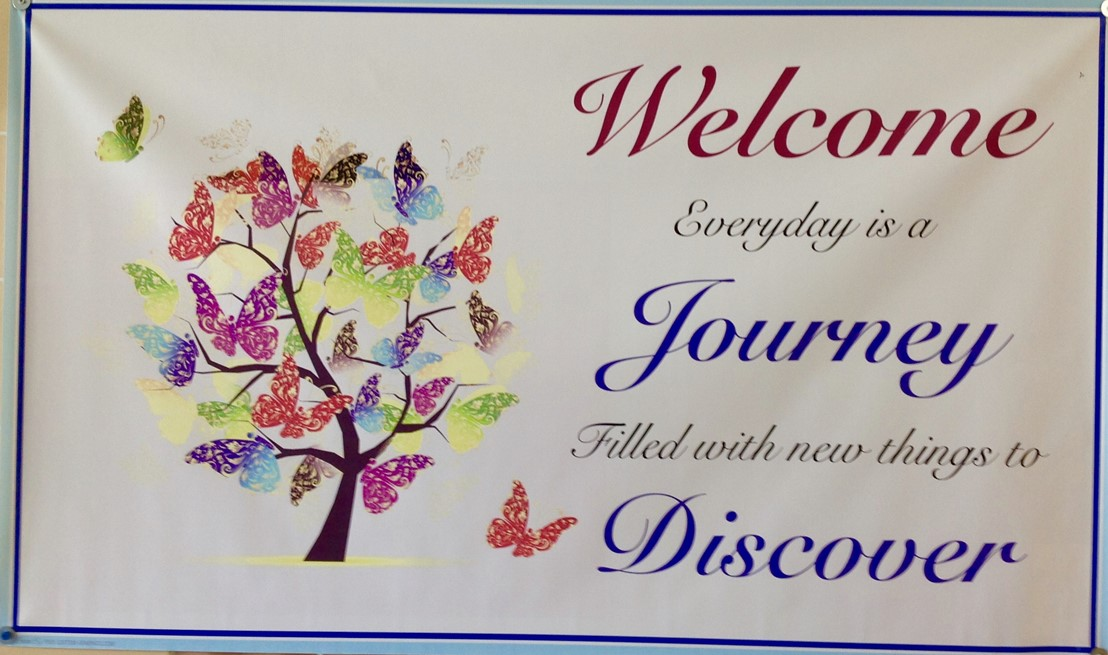 Welcome Everyday is a Journey Filled with new Things to Discover